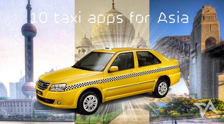 aplikasi taksi di asia